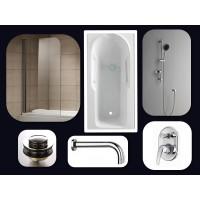 Bathroom Combo With 1600mm Bath Tub