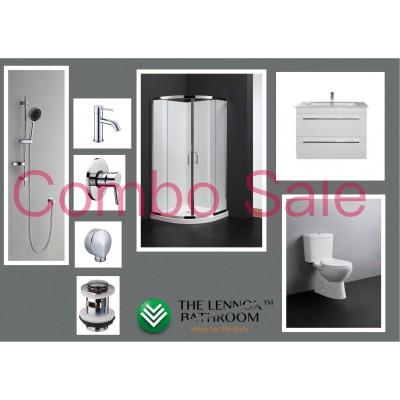 Bathroom Combo With 900mm Wall Hung Vanity