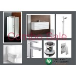 Bathroom Combo With 800mm Wall Hung Vanity