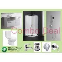 Bathroom Combo With 750mm Wall Hung Vanity