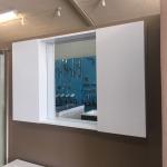 The European Bathroom Mirror Cabinet 1100mm 100% WaterProof#B1100