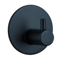 Robe Hook - Round Wall Hung Series 2200-01Matt Black