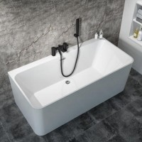 Bath Tub Marino Series 1700x730x560mm Acrylic Straight Single Square Ended