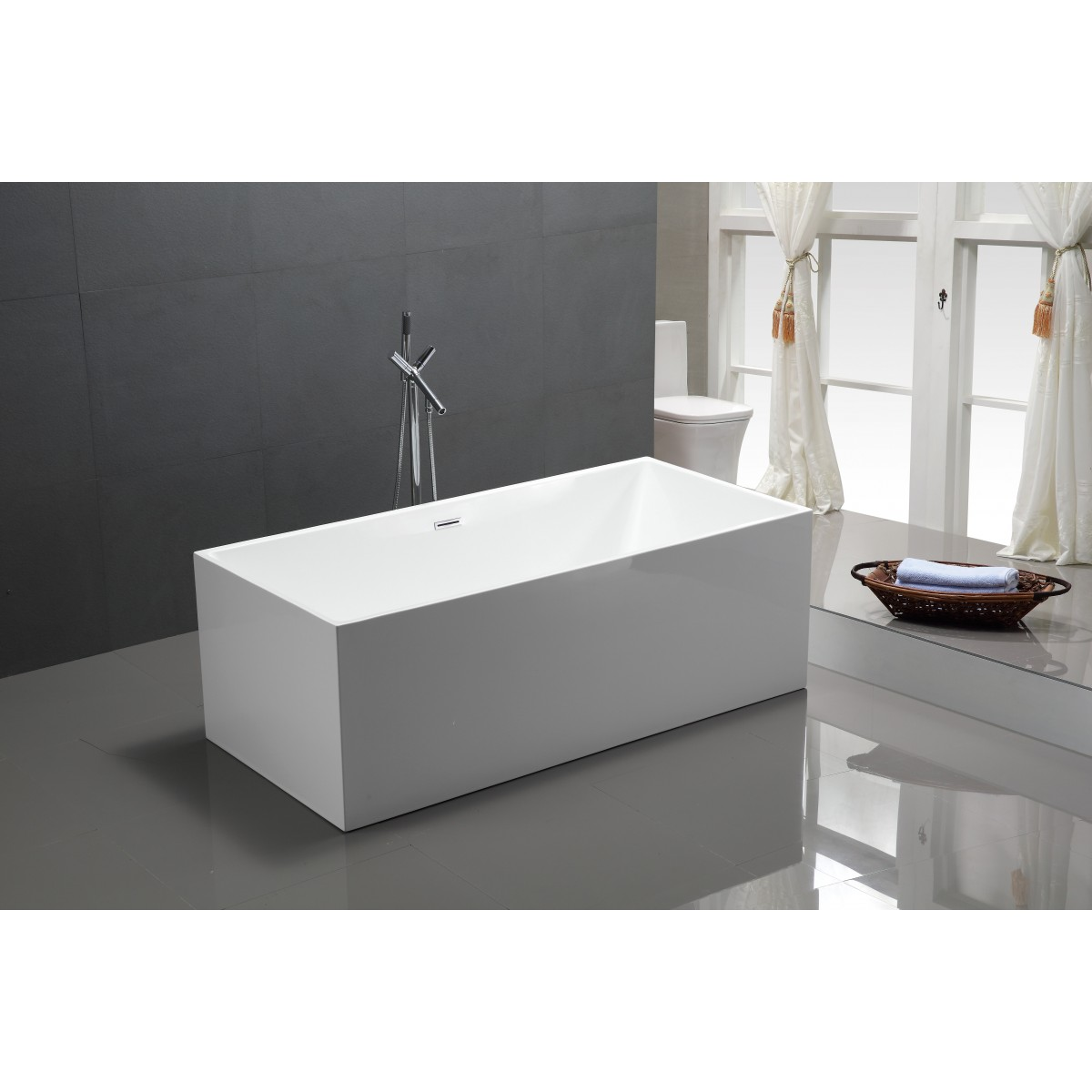 Freestanding Bath Cathy Oval 1810mm