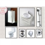 Bathroom Combo With 800mm Wall Hung Vanity