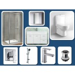 Bathroom Combo With 900mm Wall Hung Vanity And Mirror Cabinet - 100% Water Proof