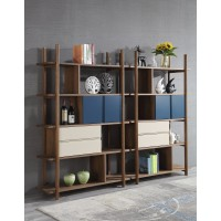 Bookcase Unit With Drawers