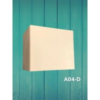 Small Wall Huang Cabinet With Soft Closing Door A04D- 400*300*350mm