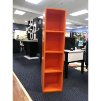 Wall Hung Cabinet - Orange