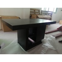 DINING TABLE - BLACK