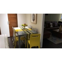 Three Mixed Color Dinning Table