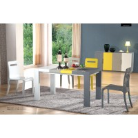 Four Mixed Color Dinning Table