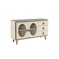 Large Side Cabinet With Leg