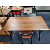 DINING TABLE - Walnut Color