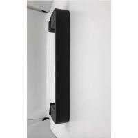 Shower glass door handle - 210mm Square Tube Black