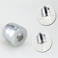 Kitchen faucet aerator water bubbler