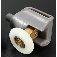 Shower Door Roller - Single Bottom P02