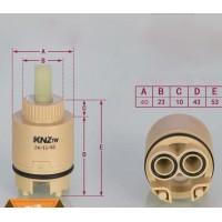 Ceramic Spool Cartridge Faucet Cartridge Mixer Khaki 40mm