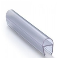 Shower Door Seal D Shape - 10mm Glass