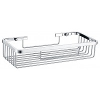 Chrome Wire Soap Basket Shower Shelf Y117