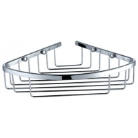 Chrome Brass Corner Basket Shower Shelf Y119
