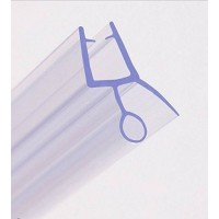 Shower Door Seal Bottom Strip - 6mm Glass