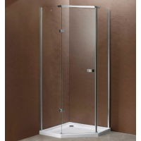 Shower Glass - Bay Series 2 Sides 900X900X1830MM (included glass installation within Auckland City)