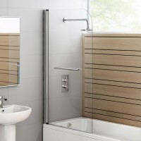 Bath Screen - Moon Series 900mm Swing Screen