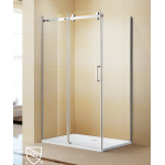 Shower Glass - Kora Series 2 Sides Frameless Glass (1200x900x1900mm)