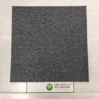 Home/Commercial PVC Woven Vinyl Flooring Tile Carpet - Light Grey