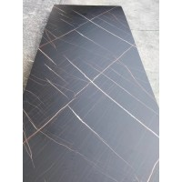 Melamine Laminated PVC  Sheet  - Net Black Color