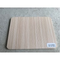 Melamine Laminated PVC Sheet - Beige Wood Color