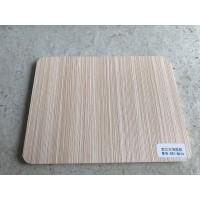 Melamine Laminated PVC Sheet - Beige Wood Color