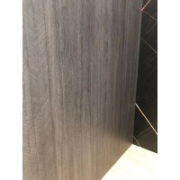 Melamine Laminated PVC Sheet - Grey Wood Color
