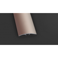 Joint Edge Chrome Trim - Aluminum Carpet And Flooring Cover Strips