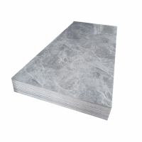 PVC UV Marble Stone Board - Grey Net Color
