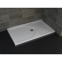 Shower Tray - Rectangle Series 1500X900mm Left Side