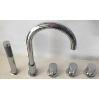 Bathtub mixer tap / countertop mixer Round 25002