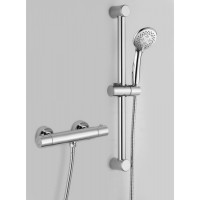 Thermostatic shower mixer with slide rail kit L1001