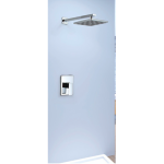 Shower Mixer - Square Series L005C + Wall Mount Raining Shower Head