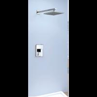 Shower Mixer - Square Series L005C + Ceiling Mount Raining Shower Head