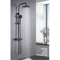 Shower Mixer Combination Round BM4601 - Black