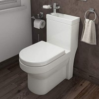 2 in 1 Toilet Basin Combo Combined Toilet and Sink