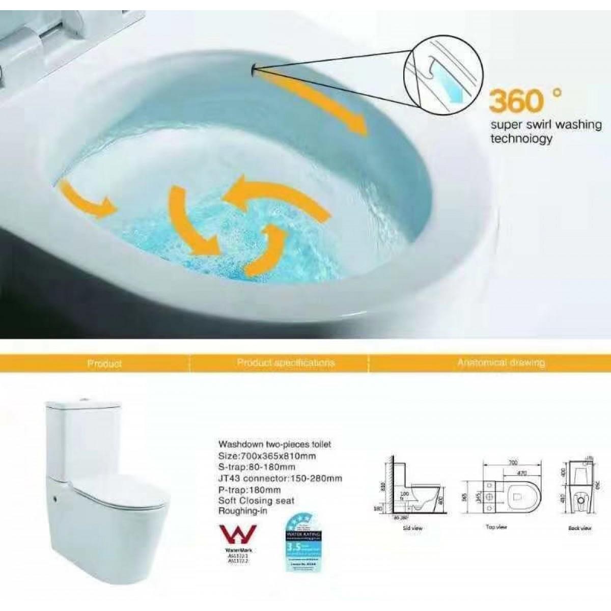 Toilet Suite Btw Bella 563