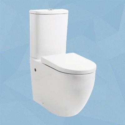 Toilet Suite - BTW Lydon Rimless Flushing - A3970