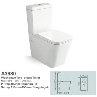Toilet Suite - BTW Lydon A3980
