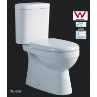 Toilet Suite TL-001S-200 Ceramic Close Coupled