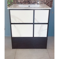 Vanity - Ava Series 700mm - Black Marble Pattern