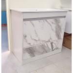 Vanity - Etham Series 900mm - White Marble Pattern