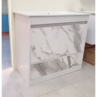 Vanity - Etham Series 1200mm - White Marble Pattern